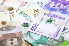 2016 gab kolumbianische Rechnungen heraus Stockbilder