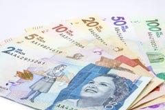 2016 gab kolumbianische Rechnungen heraus Stockbild