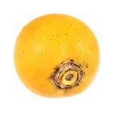 Gab (Velvet apple). Bangladeshi gab (Velvet apple) fruit over white background Stock Photography