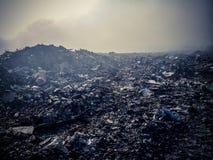 Gabage förrådsplats Arkivfoto