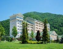 Gabala - MAY 18, 2014: Qafqaz Riverside Hotel on May 18 in Gabal Stock Images