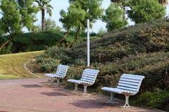 Gabarits en parc de ville photo stock
