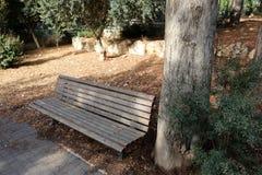 Gabarits en parc de ville image stock