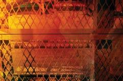 Gabbia arancione Immagini Stock