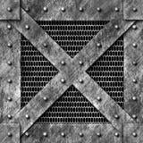 Gabbia d'acciaio del carico illustrazione di stock