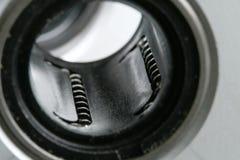 Gabbia del cuscinetto a sfere Fotografie Stock