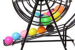 Gabbia del gioco di Bingo Fotografia Stock Libera da Diritti