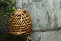 Gabbia di bambù Immagini Stock Libere da Diritti