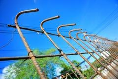 Gabbia di ferro Fotografie Stock