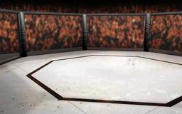 Gabbia di MMA Immagini Stock Libere da Diritti