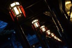 Gabbia di notte immagini stock
