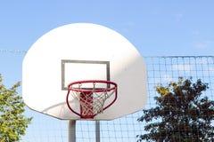 Gabbia di pallacanestro Fotografia Stock