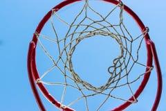 Gabbia di pallacanestro Fotografia Stock Libera da Diritti