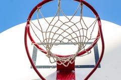 Gabbia di pallacanestro Immagini Stock Libere da Diritti