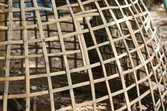 gabbia di pollo temporanea in Tailandia immagine stock