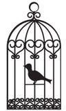 gabbia per uccelli Immagine Stock