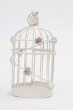Gabbia per uccelli d'annata Fotografia Stock Libera da Diritti