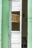Gabbia per uccelli in Trinidad, Cuba Fotografia Stock