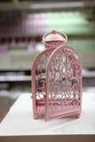 Gabbia rosa Fotografia Stock