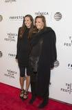 Gabby Karan De Felice och moder Donna Karan Royaltyfria Bilder