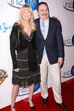 Gabe Kaplan,Marcia Strassman Royalty Free Stock Photo