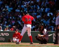 Gabe Kapler, joueur dans l'extra-champs les Red Sox de Boston Images libres de droits