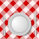 Gabel-Platten-Messer Stockbilder