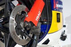 Gabelfederung Hondas ns400r Stockfotos