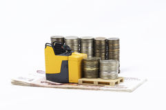 Gabelstapler Lizenzfreies Stockfoto