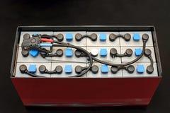 Gabelstapler-Batterie lizenzfreie stockfotografie