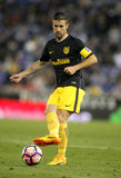 Gabi Fernandez of Atletico de Madrid. During a Spanish League match against RCD Espanyol at the RCDE Stadium on May 6 2017 in Barcelona Spain Royalty Free Stock Photos