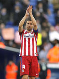 Gabi Fernandez de Atlético Madrid Fotografia de Stock