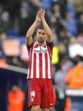 Gabi Fernandez di Atletico Madrid Fotografia Stock