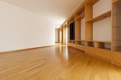 gabineta pusta pokoju ściana zdjęcia stock