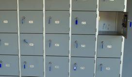 Gabinete bloqueable Imagen de archivo libre de regalías