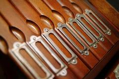 Gabinete de arquivo Fotos de Stock Royalty Free