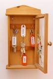Gabinete de chaves Imagem de Stock Royalty Free