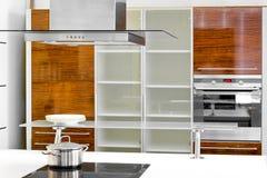 Gabinete de cozinha foto de stock
