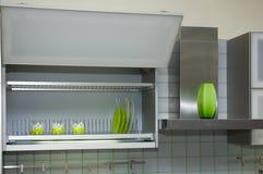 Gabinete de cozinha imagens de stock