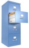 Gabinete de fichero. Imágenes de archivo libres de regalías