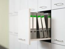 Gabinete de fichero Fotos de archivo