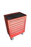 Gabinete de herramientas móvil del cajón - aislado Imagen de archivo libre de regalías