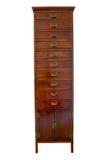 Gabinete de madeira Imagens de Stock Royalty Free