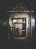Gabinete de madera del vintage foto de archivo