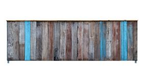 Gabinete de madera viejo clásico del aislante foto de archivo