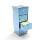 Gabinete de solo archivo Imagenes de archivo