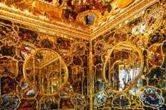 Gabinete do espelho em Wurzburger Residenze. foto de stock royalty free
