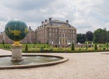 Gabinete do Het do palácio real nos Países Baixos Foto de Stock
