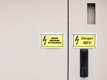 Gabinete eléctrico Fotografía de archivo libre de regalías