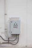 Gabinete elétrico Foto de Stock